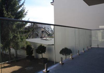 Balustrada szklana Kraków